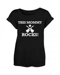 Stoer Mama T-shirt This Mommy Rocks