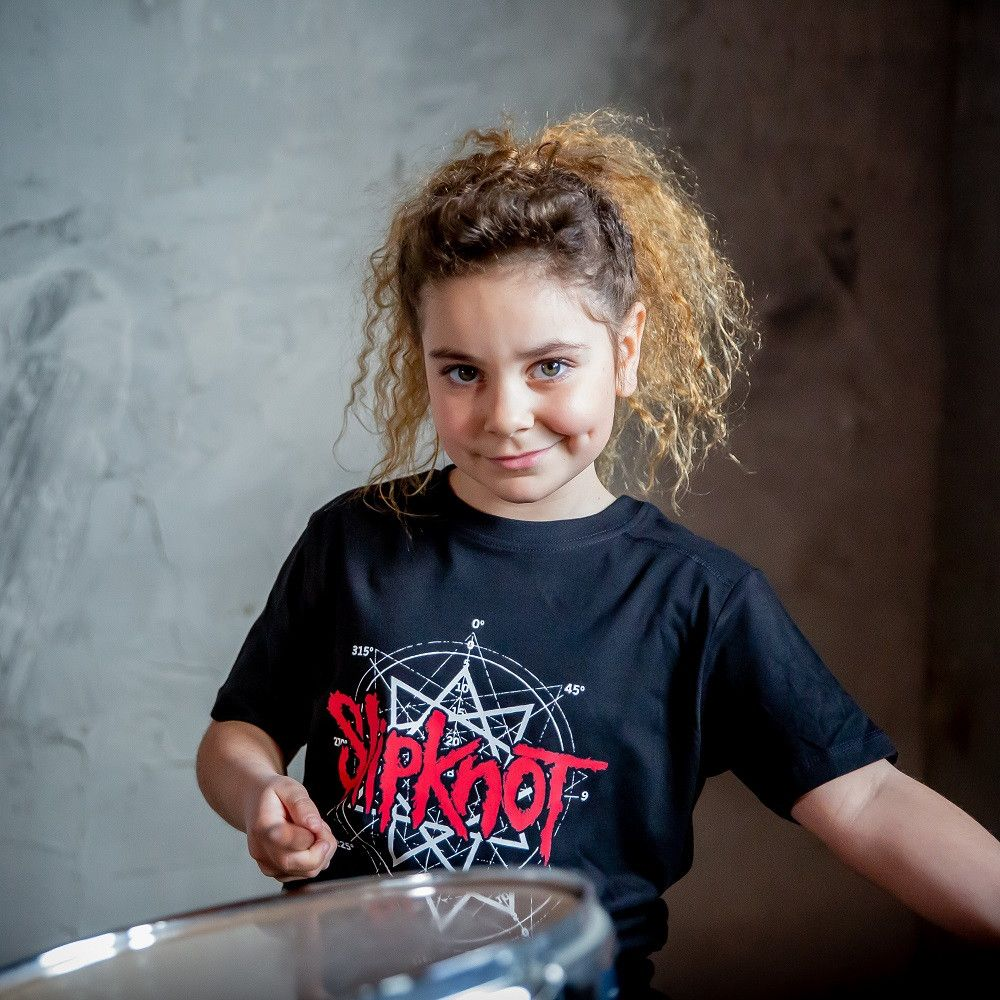 T-shirt bambini Slipknot Scribble fotoshoot
