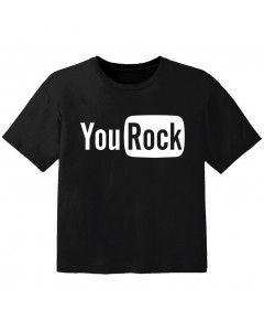 T-shirt Bambino Rock you rock