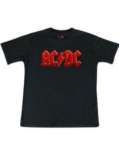 ACDC Kids T-Shirt Logo colour ACDC