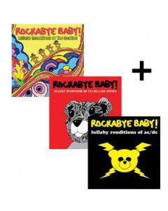 Baby rock giftset Rockabye Baby Classic Set