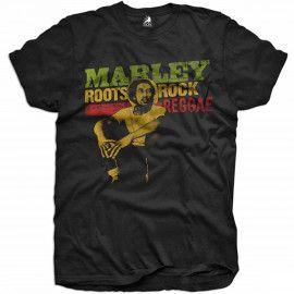 T-shirt bambini Bob Marley Rock Reggae