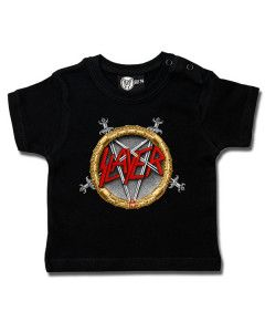 Slayer T-shirt Bébé Pentagram