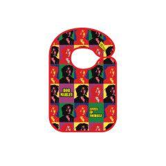 Rock baby bib Bob Marley Lively up yourself