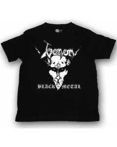 Venom kinder T-shirt Black Metal