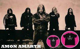 Amon Amarth abbigliamento bebè rock