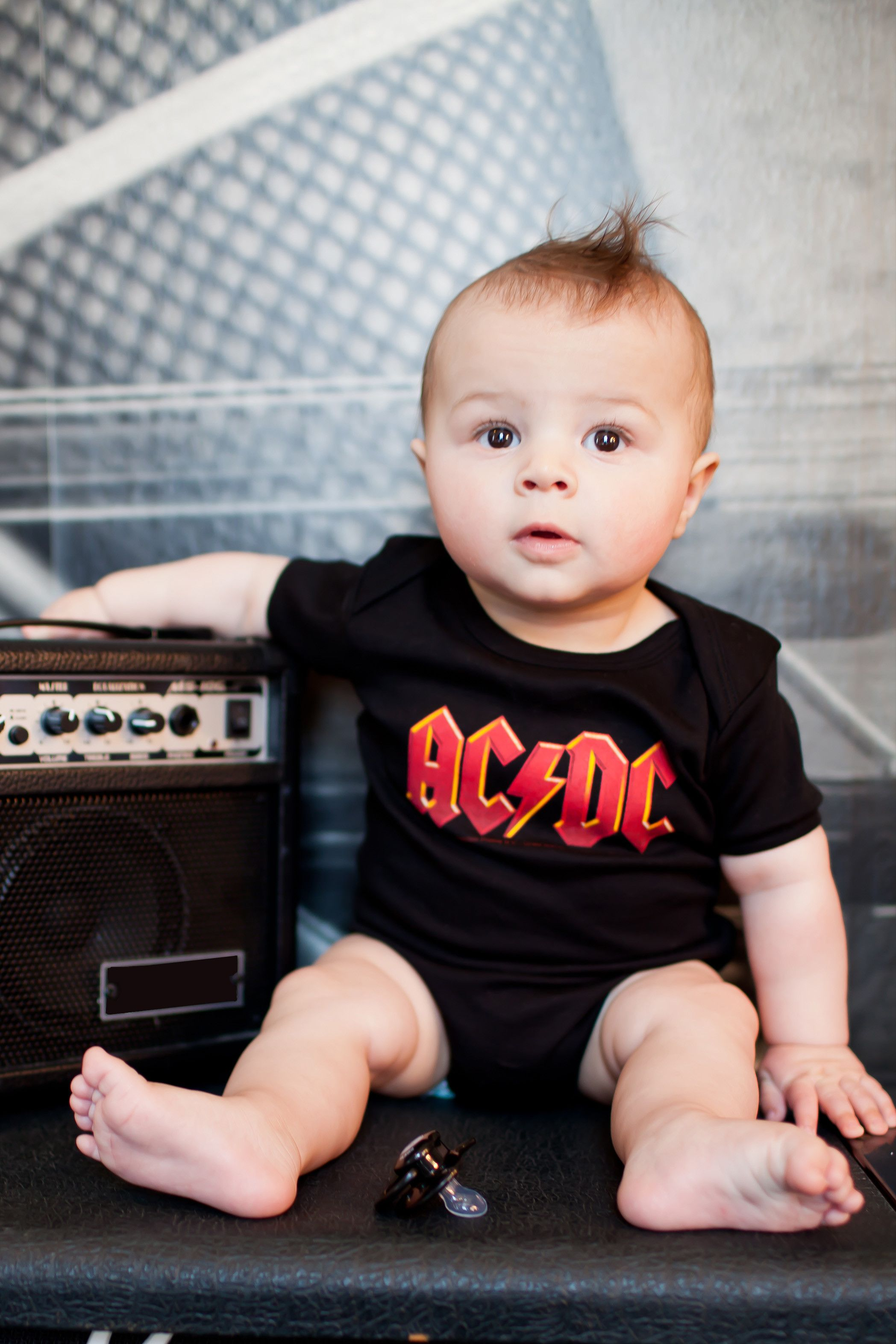 Body bebè AC/DC AC/DC Logo