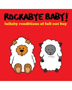 Rockabye Baby Fall Out Boy CD Lullaby