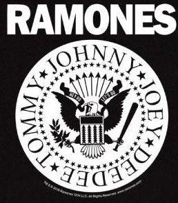 T-shirt bambini Ramones Full White