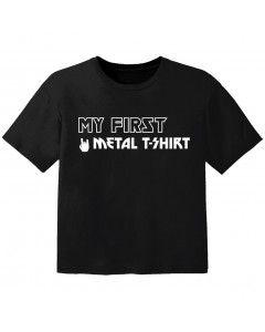 T-shirt Bambini my first metal t-shirt