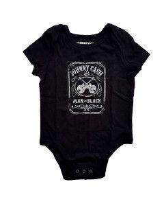 Body Bébé Johnny Cash Man in black
