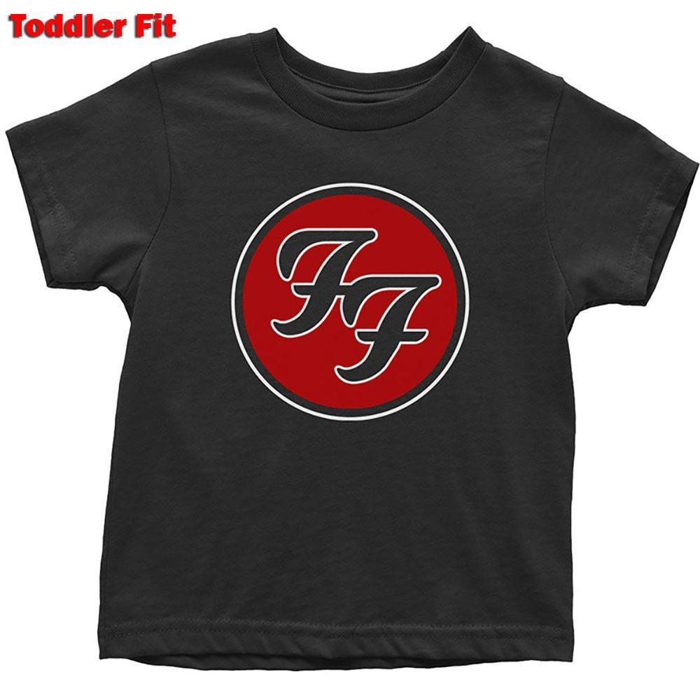 T-shirt bambini Foo Fighters Logo Red