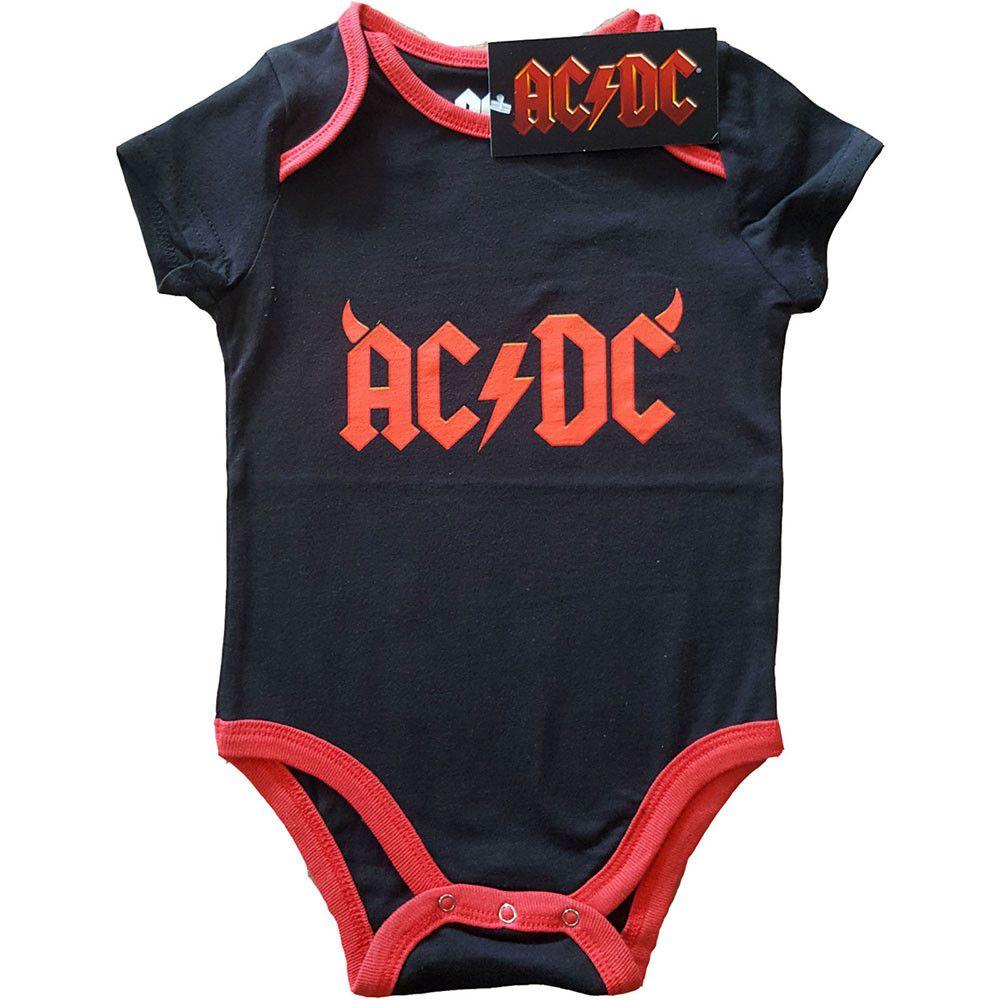 Body Devil Horns bebè AC/DC