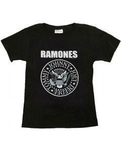 T-shirt bambini Ramones Logo White