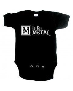 Body Bébé Metal M is for metal