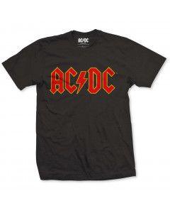 ACDC T-shirt voor kinderen yellow
