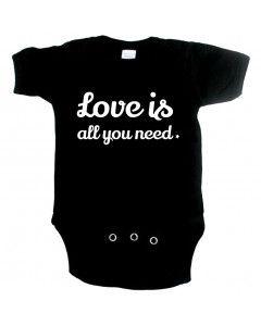 Cute babygrow love is all you need