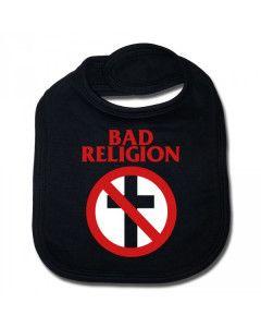Bad Religion Baby Rock Bib Cross Cotton