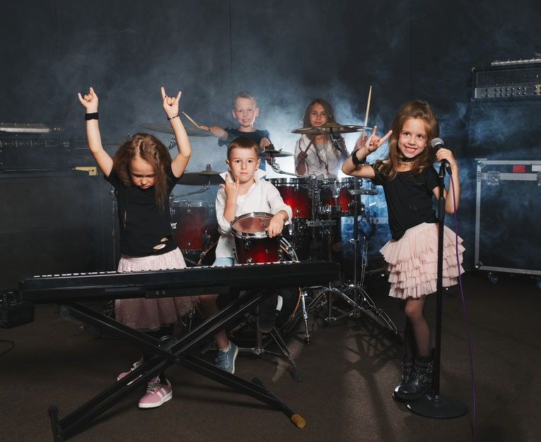 Let your kids create their own rock band!