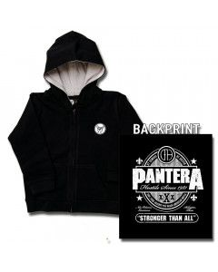 Pantera Kids Hoody Zip Stronger than (print on demand)